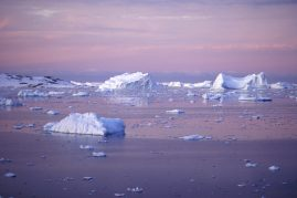 Pastel ice, Antarctic Peninsula.